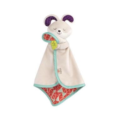 B Toys, Uroczy kocyk-przytulanka dla niemowląt KRÓLICZEK