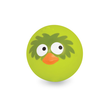B Toys, Sprężysta piłka wydająca ptasie odgłosy LIMONKOWA