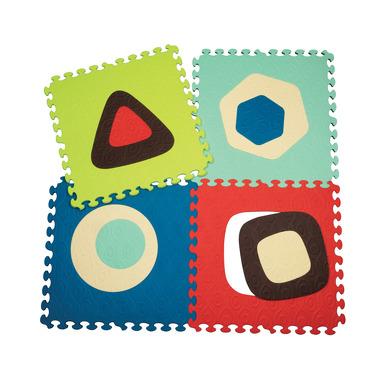 B Toys, Puzzle piankowe z podwójnie wyjmowanymi środkami SZAFIR