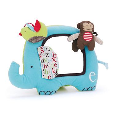 Skip Hop, zabawka bezpieczne lusterko Alfabet