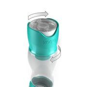 Butelka dla niemowląt z dozownikiem b.box fioletowa