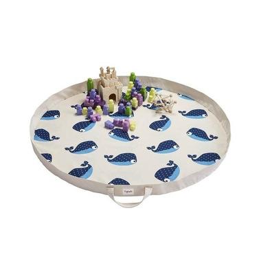 3 Sprouts, Mata na Zabawki Wieloryb Niebieski