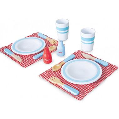 Indigo Jamm, Drewniany zestaw obiadowy