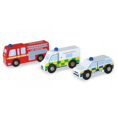 Indigo Jamm, Drewniane autka pojazdy ratunkowe