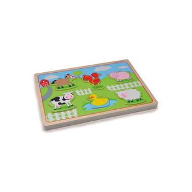 Indigo Jamm, Drewniane puzzle dźwiękowe Zwierzęta na farmie