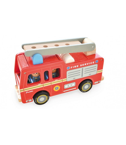 Indigo Jamm, Drewniany wóz strażacki Freddiego