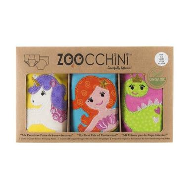 Zoocchini, Majtki Treningowe Dziewczęce 2-3 Wróżki