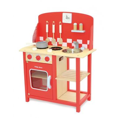 Indigo Jamm, Drewniana kuchnia czerwona