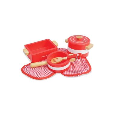 Indigo Jamm, Drewniane naczynia kuchenne czerwone