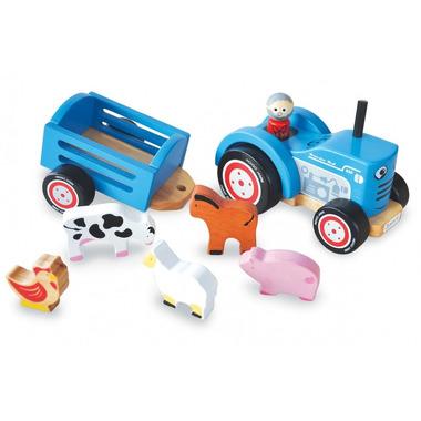 Indigo Jamm, Drewniany traktor Tima