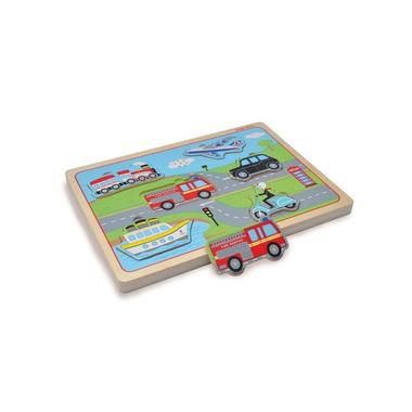 Indigo Jamm, Drewniane puzzle dźwiękowe Pojazdy transportowe