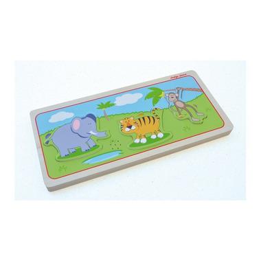 Indigo Jamm, Drewniane puzzle dźwiękowe Zwierzęta dzikie