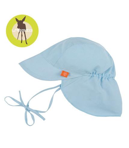 Lassig, Czapka z daszkiem, UV 50+ Niebieska, 0-6 mcy