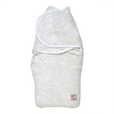 Lodger, Otulacz bawełniany - Bundler Sprinkle Print Ivory