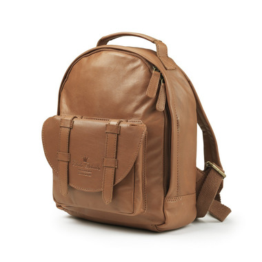 Elodie Details, Plecak BackPack MINI - Chestnut Leather