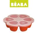 Beaba, Silikonowy pojemnik do mrożenia 6 x 90 ml paprika