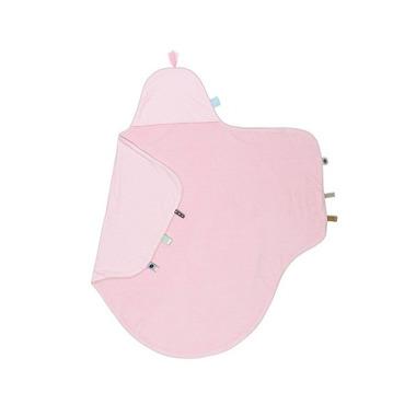 SnoozeBaby, Ręcznik z kapturkiem różowy