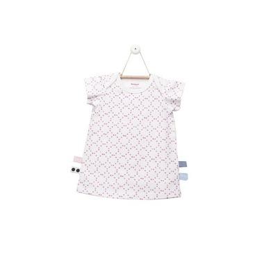 SnoozeBaby, Sukienka z krótkim rękawem Różowe stempelki rozmiar 68