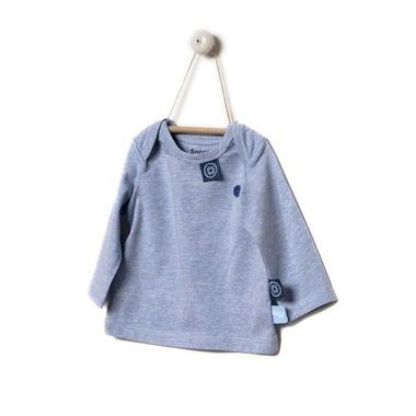 SnoozeBaby, Koszulka z długim rękawem Niebieski melanż rozmiar 68