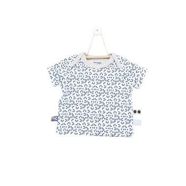 SnoozeBaby, Koszulka z krótkim rękawem Granatowa mozaika rozmiar 68