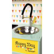 Janod, Kuchnia drewniana z dźwiękiem i z 7 akcesoriami Happy Day
