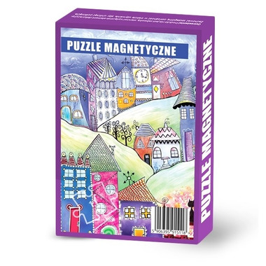 Maka Kids, Puzzle Magnetyczne Baśniowe Wzgórze