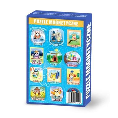 Maka Kids, Puzzle Magnetyczne Miesiące
