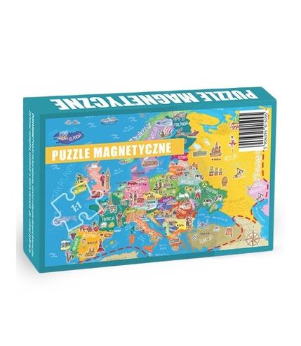 Maka Kids, Puzzle Magnetyczne Poznaje Europę