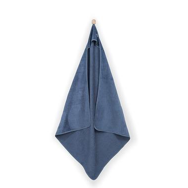 Jollein, Duży ręcznik 100x100cm Sweet Bunny Granatowy