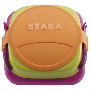 Beaba, lunchbox i talerzyk w jednym