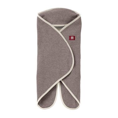 Red Castle, otulacz rożek Babynomade 6-12m Double Fleece Heather beige/ Ecru