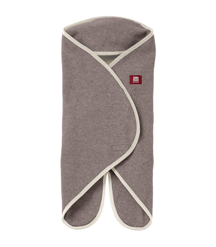 Red Castle, otulacz rożek Babynomade 6-12m Double Fleece Heather beige/ Ecru