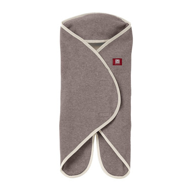 Red castle, Otulacz rożek Babynomade 0-6m Double Fleece Heather beige /Ecru