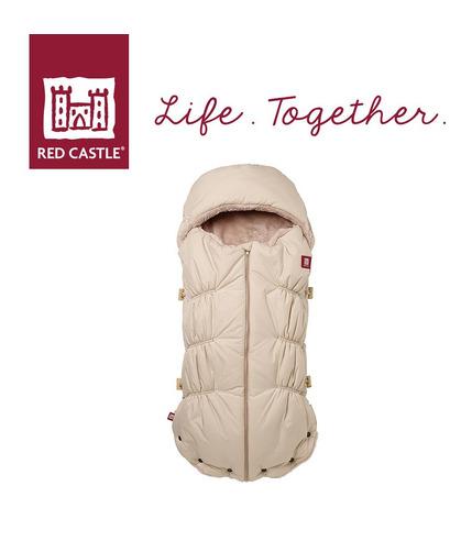 Red Castle, Śpiwór zimowy do wózka i fotelika Babynest 0-6m Heather Beige