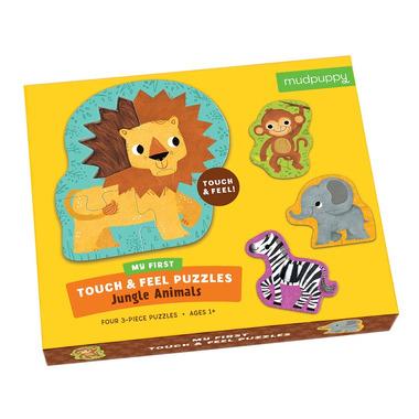 Mudpuppy,Puzzle sensoryczne Zwierzęta Dżungli