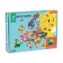 Mudpuppy, Puzzle Mapa Europy z elementami w kształcie państw