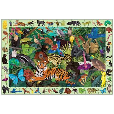 Mudpuppy, Puzzle szukaj i znajdź Las tropikalny 64 elementy