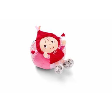 Lilliputiens,Czerwony Kapturek Materiałowa piłka z dzwoneczkiem