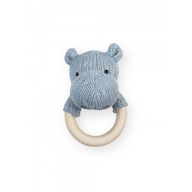 Jollein, Gryzak Soft Knit Błękitny