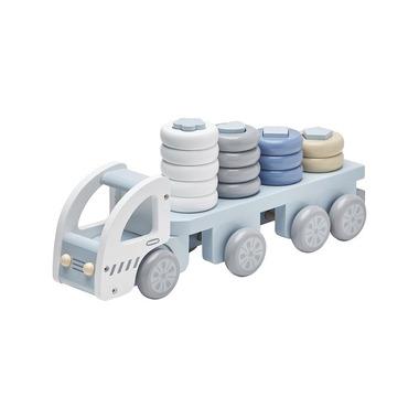 Kids Concept, Ciężarówka z Klockami Blue