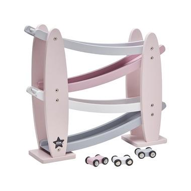Kids Concept, Zjeżdżalnia Drewniana Pink