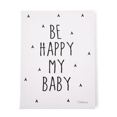 Childhome, Obrazek olejny BE HAPPY MY BABY 30x40 cm