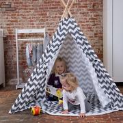 Childhome, Drewniany namiot TIPI ZIGZAG