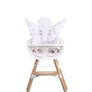 Childhome, Uniwersalny ochraniacz do krzesełek brudny róż Anioł