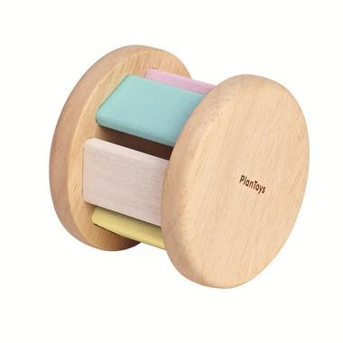 Plan Toys, Pastelowa grzechotka roller