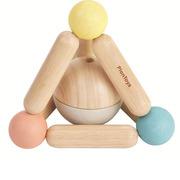 Plan Toys, Pastelowa grzechotka piramidka