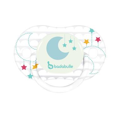 Badabulle, Komplet 2 smoczków 0-6 m-cy Moon Star