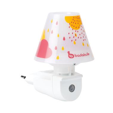 Badabulle, Lampka nocna do kontaktu pomarańczowa