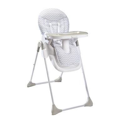 Badabulle, Wysokie krzesełko Easy White-Grey