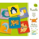 Puzzle duo dwuelementowe kartonowe